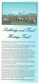 Sockbridge and Tirril Heritage Trail leaflet