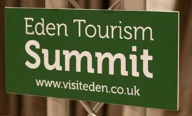 Eden Tourism Summit sign